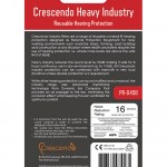 Crescendo Heavy Industry Back of Package