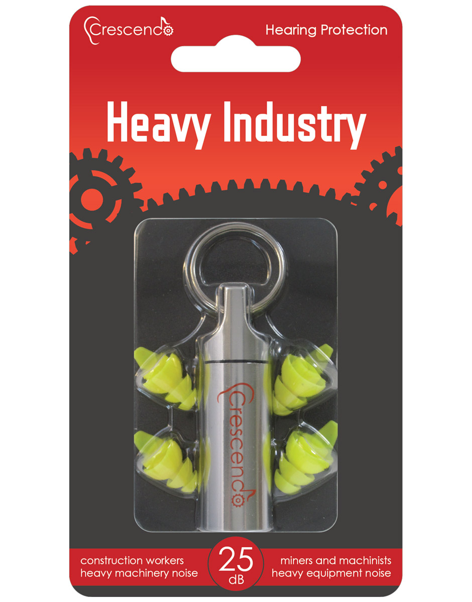 Crescendo Heavy Industry Front of Package