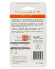 PR-1563-Crescendo-Hearing-Protection-Music-20-Earplugs-Back