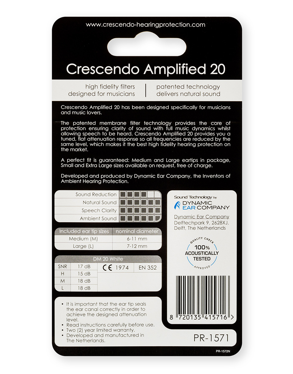 b2a239736 Crescendo PRO - Amplified 20