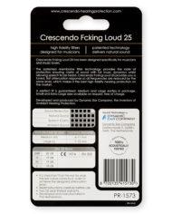 PR-1573-Crescendo-Hearing-Protection-PRO-Fcking-Loud-25-Earplugs-Back
