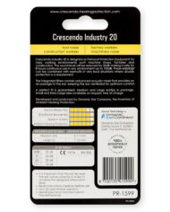 PR-1599-Crescendo-Hearing-Protection-Industry-20-Earplugs-Back