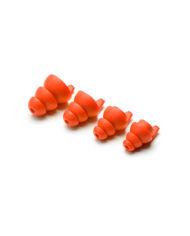Dynamic Ear Company Eartips 4 sizes Orange